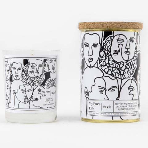 Androgyne Purifying Candle in Black
