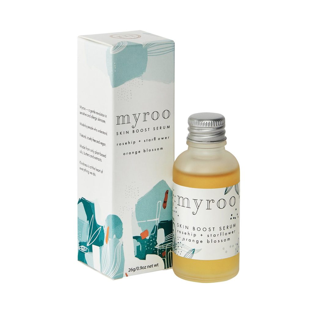 Myroo Skin Boost Facial Serum Starflower and Orange Blossom