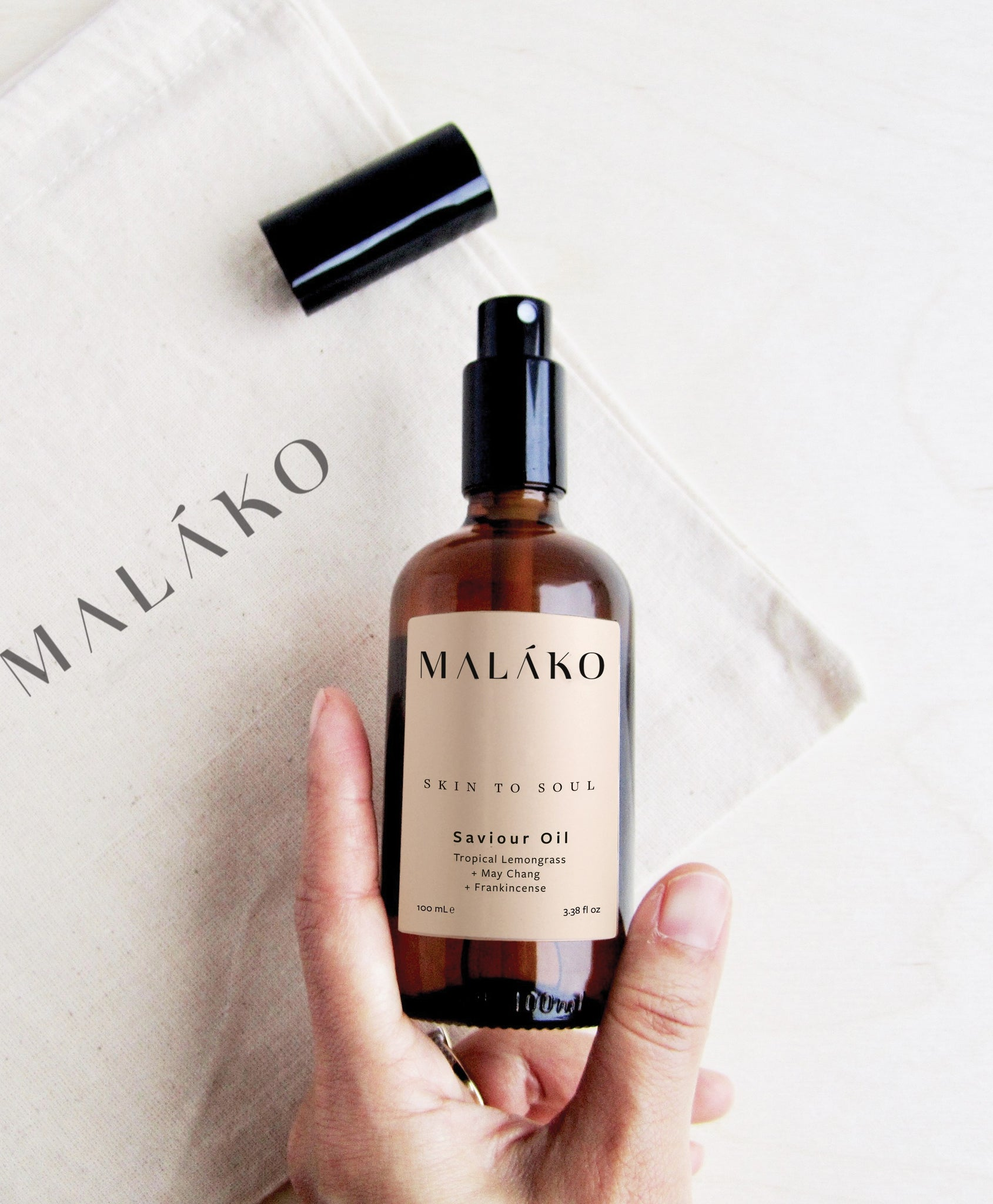 MALĀKO Skin to Soul Saviour Oil, 100ml