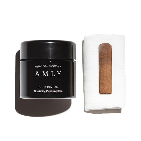 AMLY Botanicals Deep Reveal Nourishing Cleansing Balm, 100ml