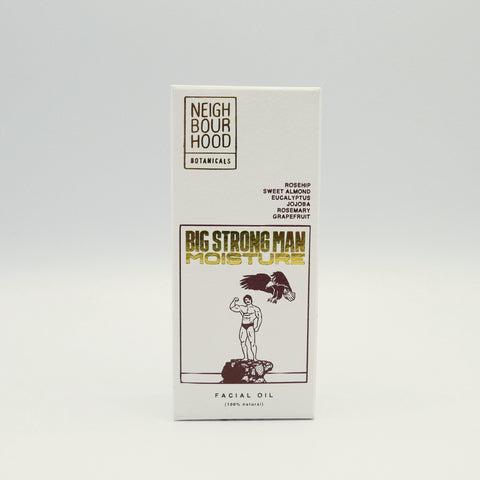 Neighbourhood Botanicals Big Strong Man Moisture Facial Oil, 30ml