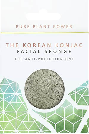 Energising Tourmaline Anti-Pollution Facial Sponge