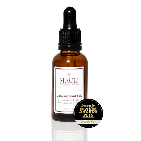 Mauli Rituals Grow Strong Hair Oil, 30ml