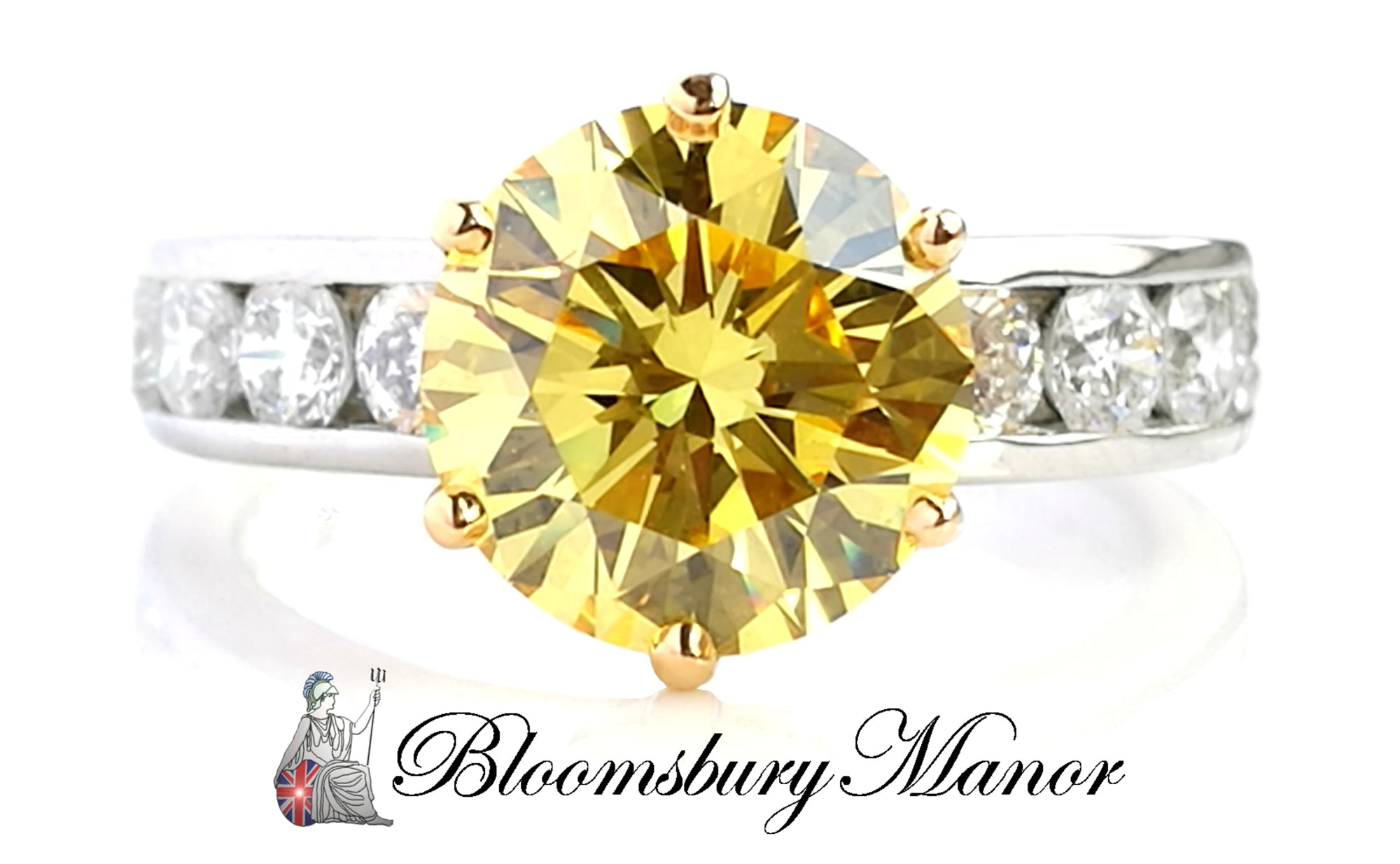 This Valentine's  - A Vivid Dream Fancy Yellow Diamond