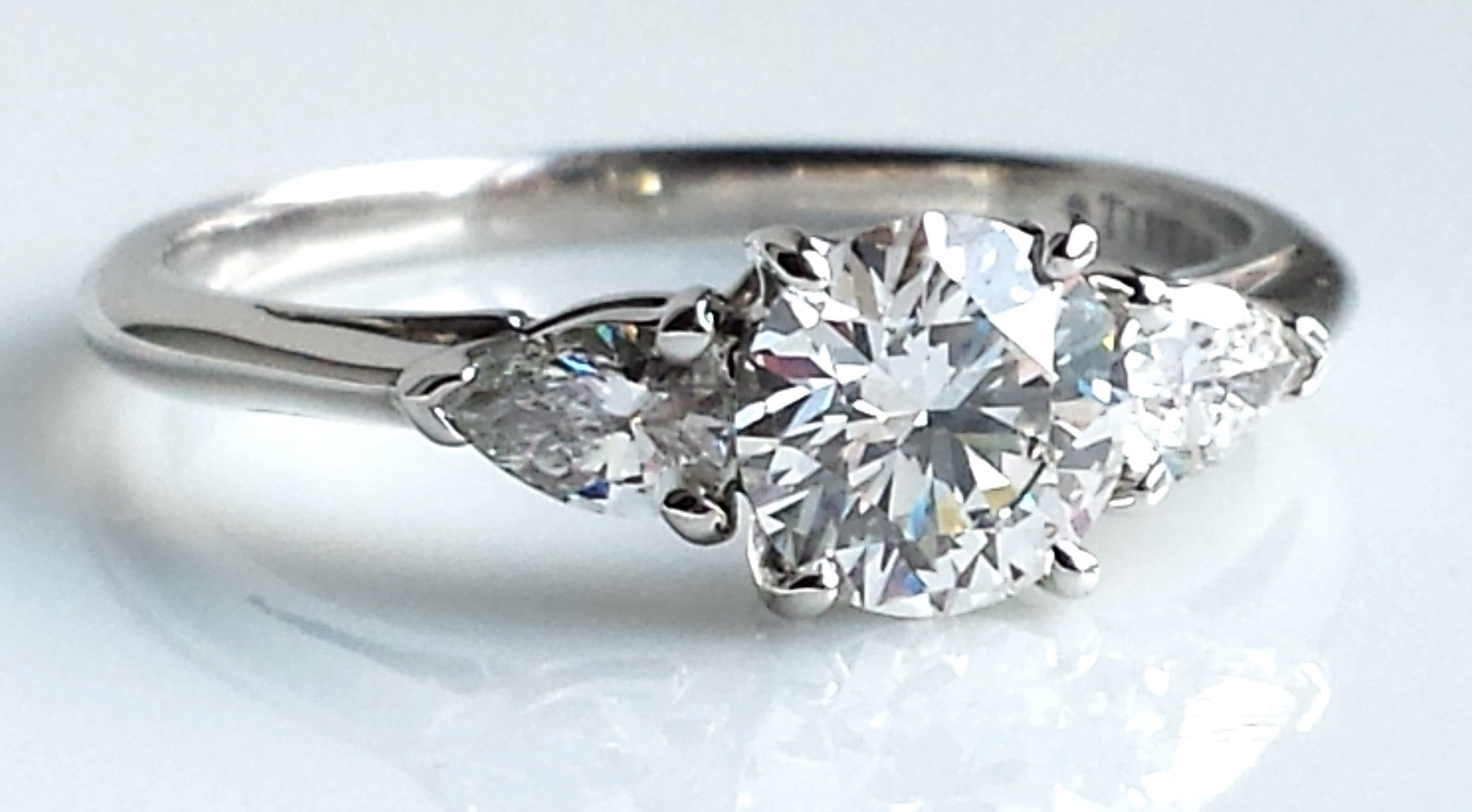 london two by diamond ring halo engagement round rings