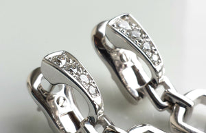 Bulgari/ Bvlgari Parentesi Earrings with Diamonds