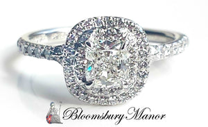 Tiffany & Co. 0.86tcw G/VVS1 Soleste Diamond Engagement Ring