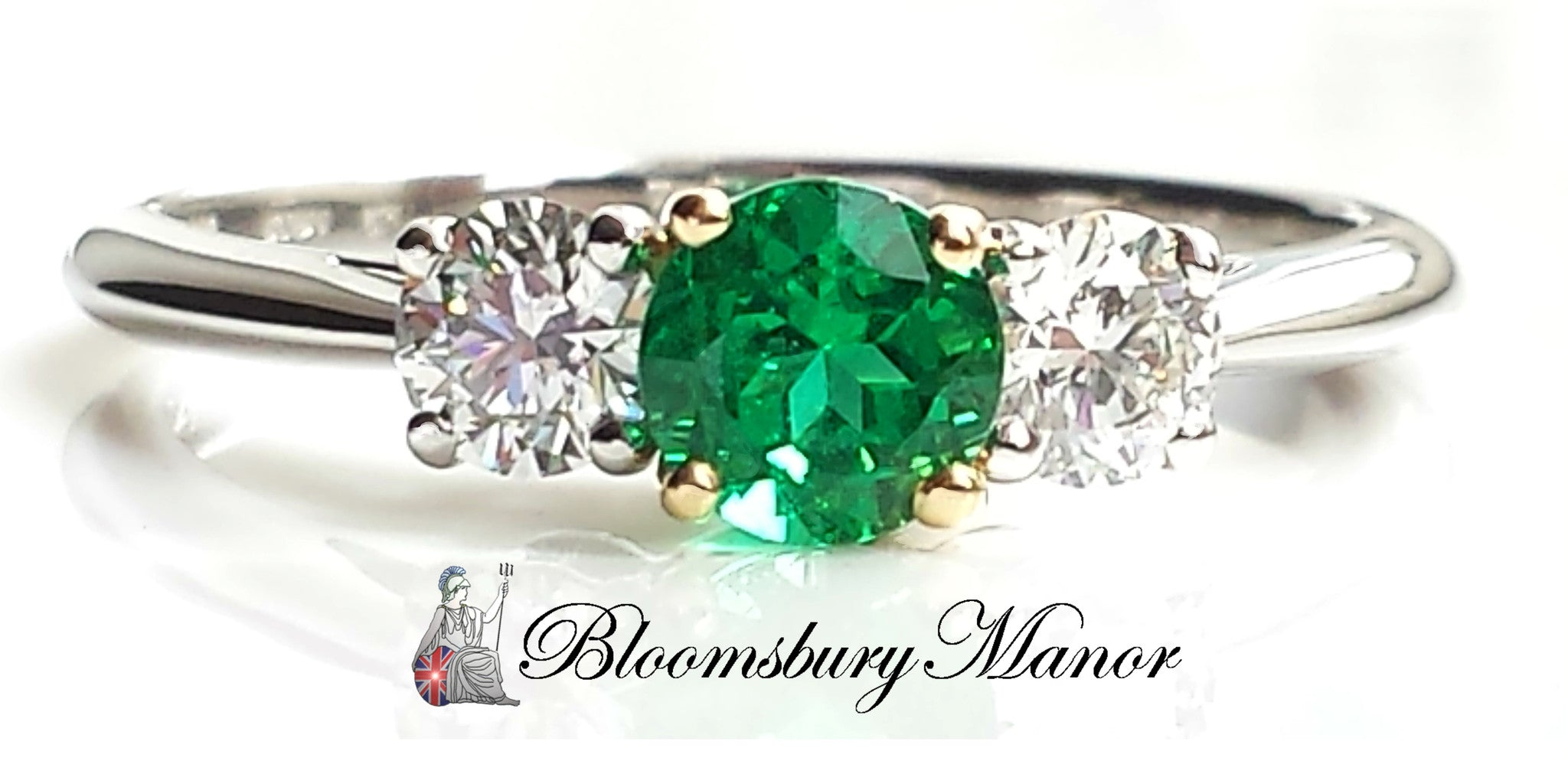 unique green beautiful fashion wedding rings emerald hbz bridal stone engagement