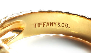 Tiffany & Co. Vintage Heart-Shaped Peridot Ring in 18k Yellow Gold