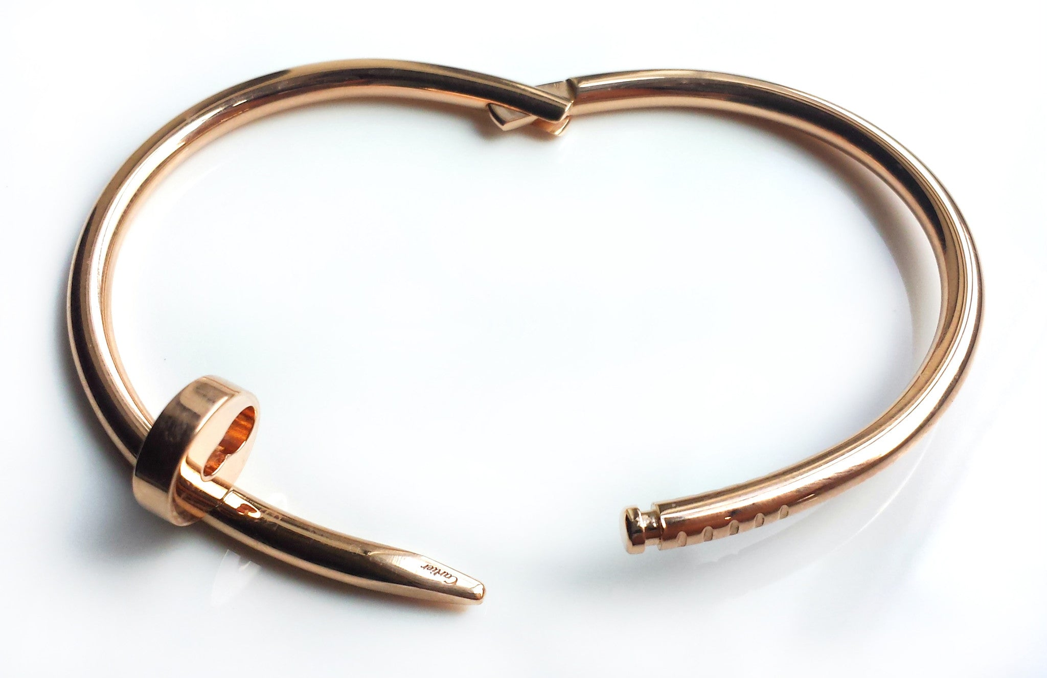 bangles love bridget ashley bracelet products bangle signature gold beed