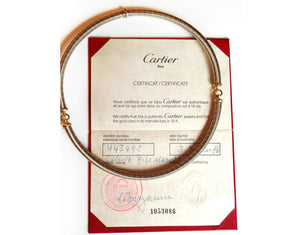 pre-owned, second hand, used, Cartier, necklace