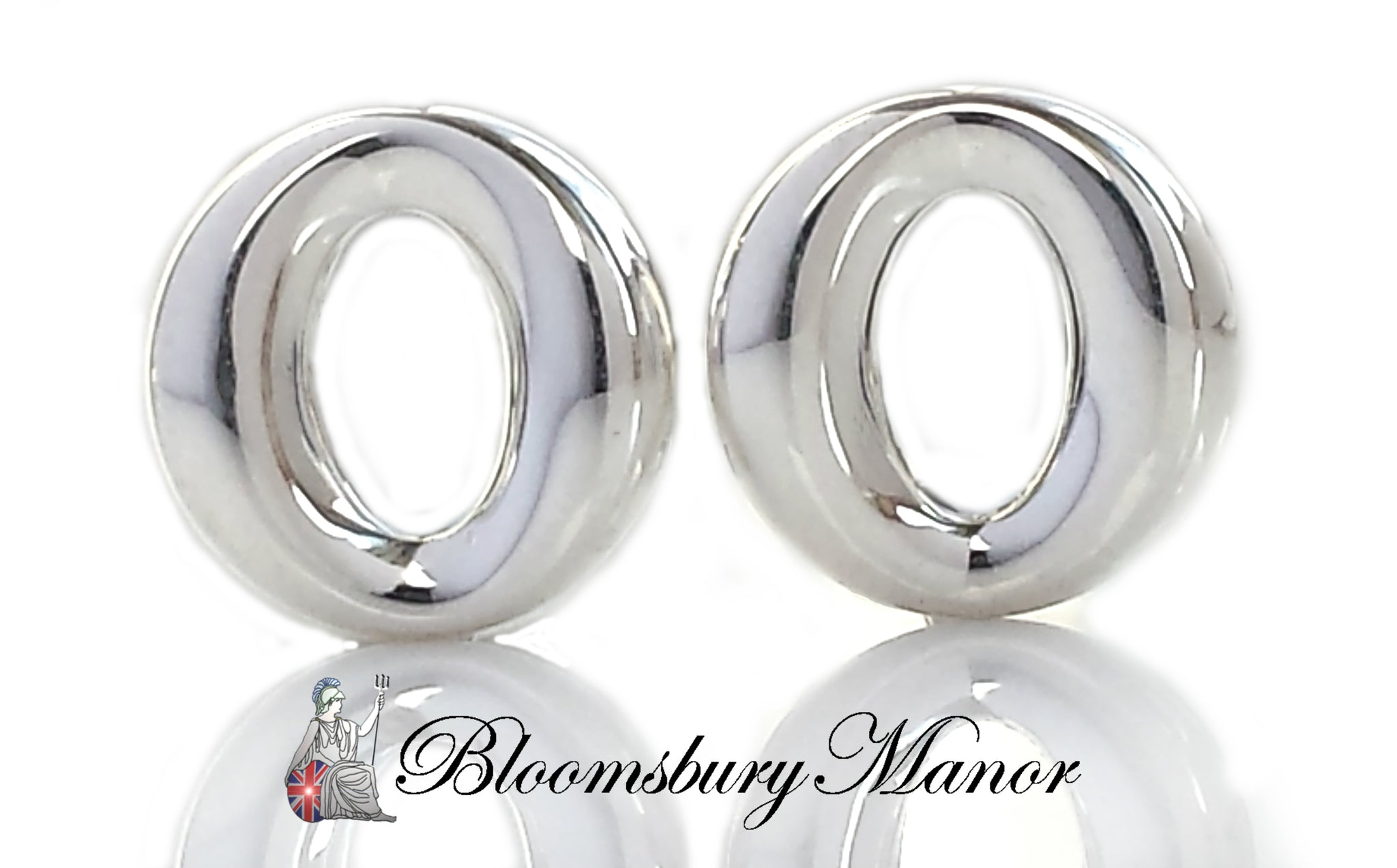 6a1128a6a Tiffany & Co Sterling Silver Sevillana O Earrings - Bloomsbury Manor Ltd