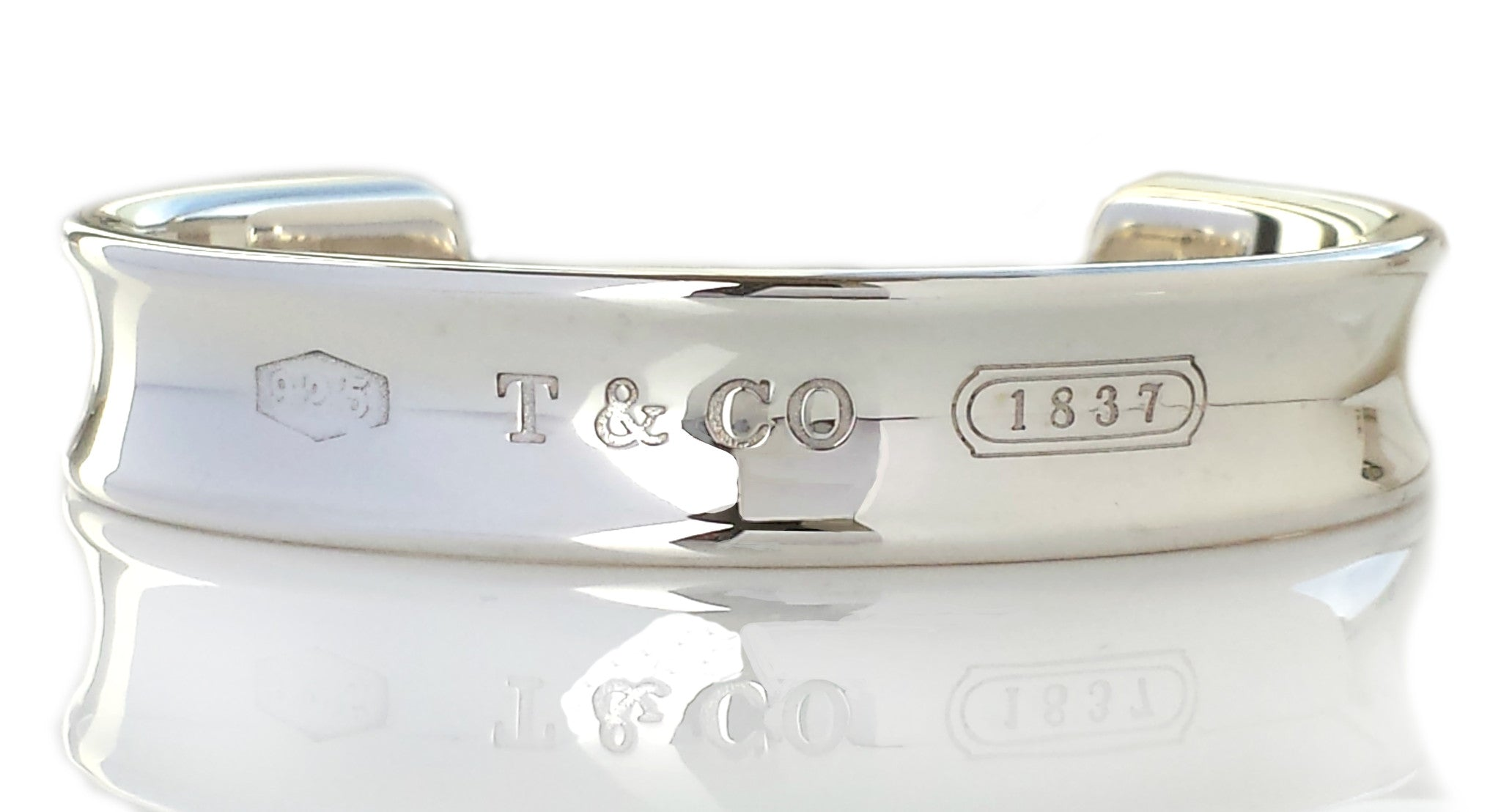 399c4adf9 Tiffany & Co 1837 Sterling Silver Bangle Bracelet Small - Bloomsbury Manor  Ltd