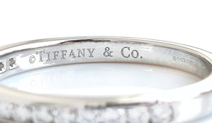 Tiffany & Co. 2mm Diamond Eternity Wedding Band, Size K