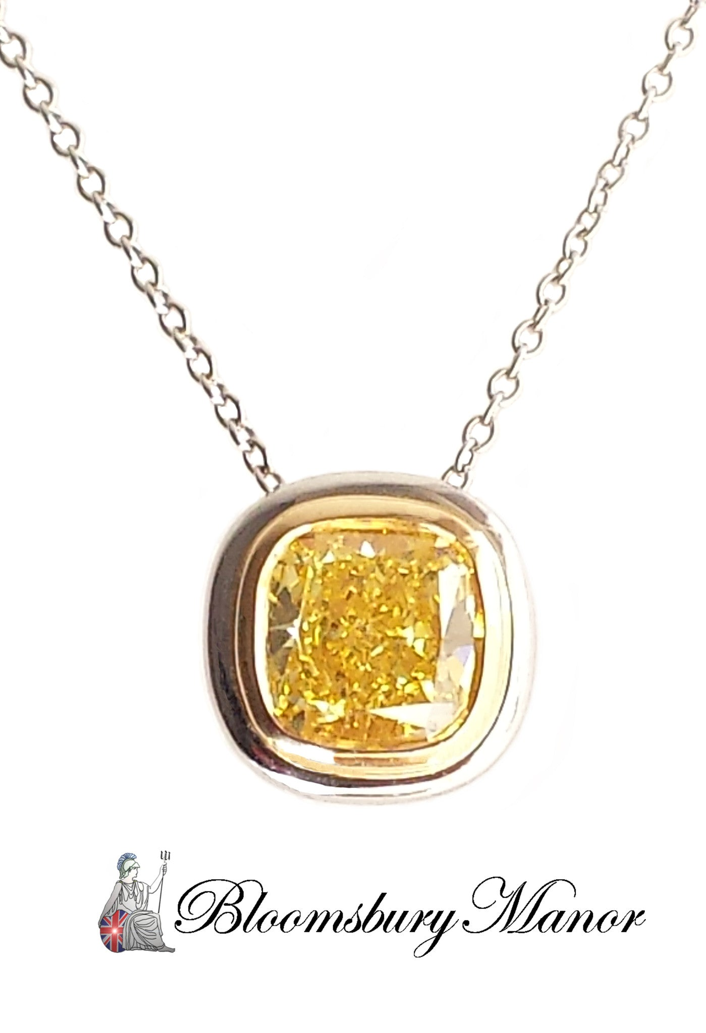 Tiffany co bezet set 152ct fvvvs2 fancy vivid yellow diamond tiffany co bezet set 152ct fvvvs2 fancy vivid yellow diamond pendant mozeypictures Image collections