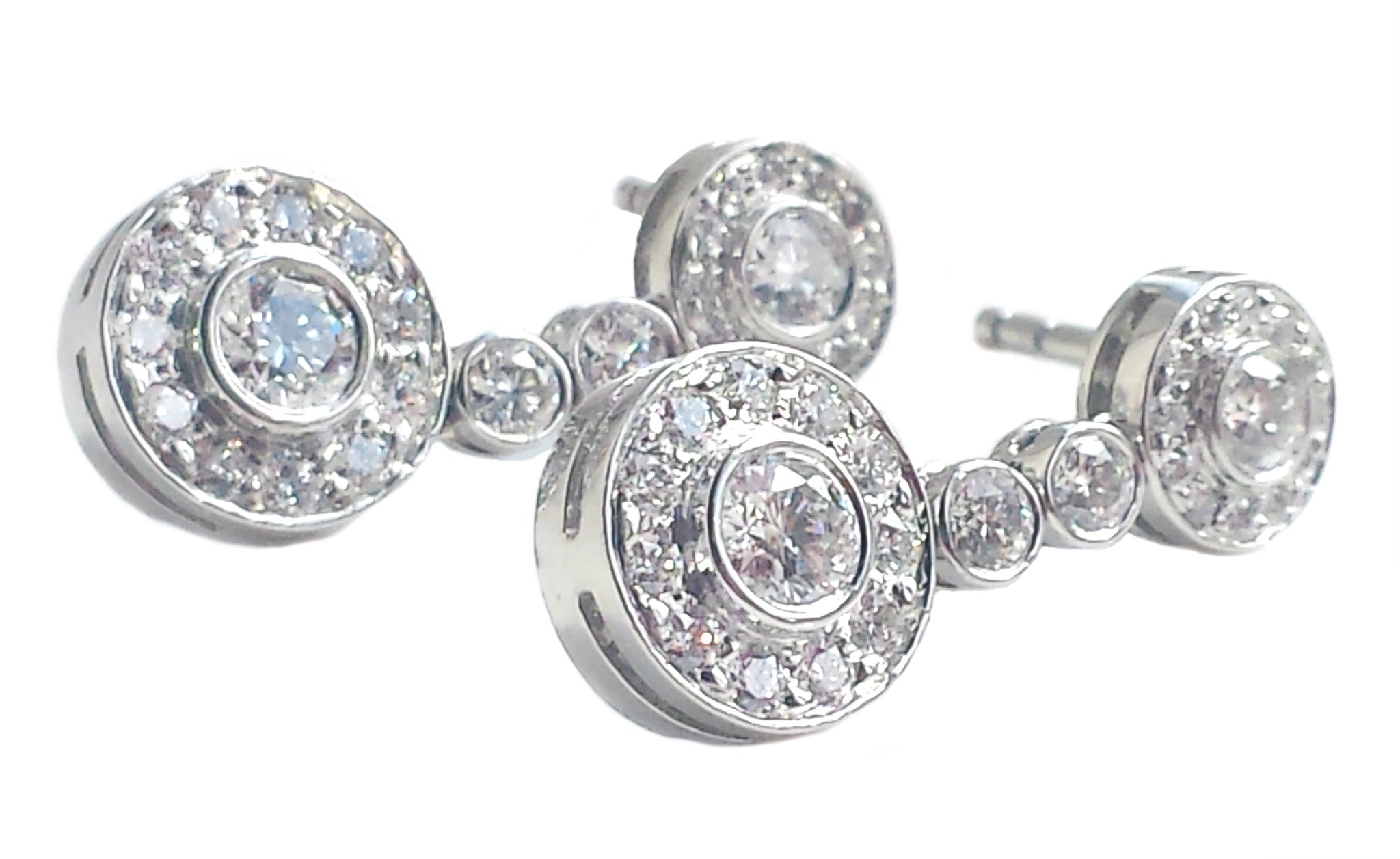 york a new jewelers tiffany stud jewelry diamond earrings and platinum co