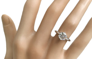Tiffany & Co 1.27ct I/VS1 Round Brilliant Engagement Ring RRP £19000
