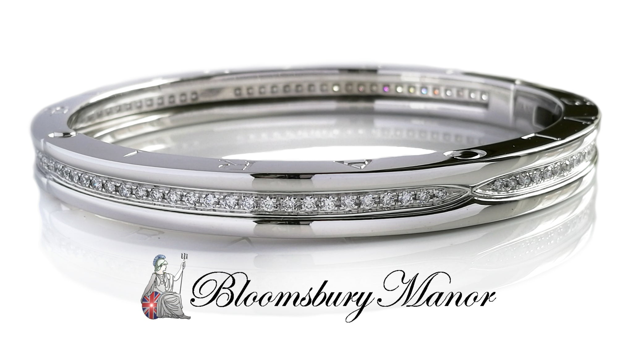 bangles bangle platinum bracelets prong set classic gold new bracelet diamond pave