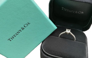 Tiffany & Co. 0.63tcw G/VS2 'Triple-X' Novo® Diamond Solitaire Engagement Ring