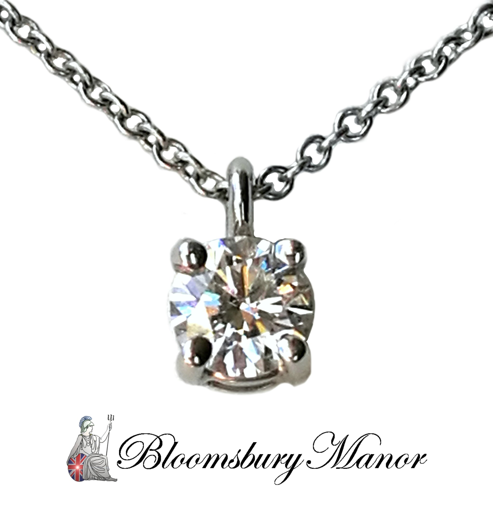 branch solitaire collections gold diamond white szor jad necklaces products br necklace