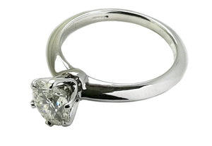 Tiffany & Co. 1.15ct H/VS1 Round Brilliant Cut Diamond Engagement Ring