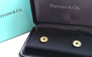 Tiffany & Co. Atlas 18k Yellow Gold Earrings
