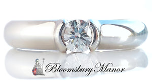 Tiffany & Co. 0.27ct H/VVS1 'Etoile' Round Brilliant Cut Diamond Engagement Ring