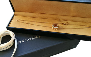 Bulgari Bvlgari Bzero.1 Bzero1 18k Yellow Gold Necklace Boxed