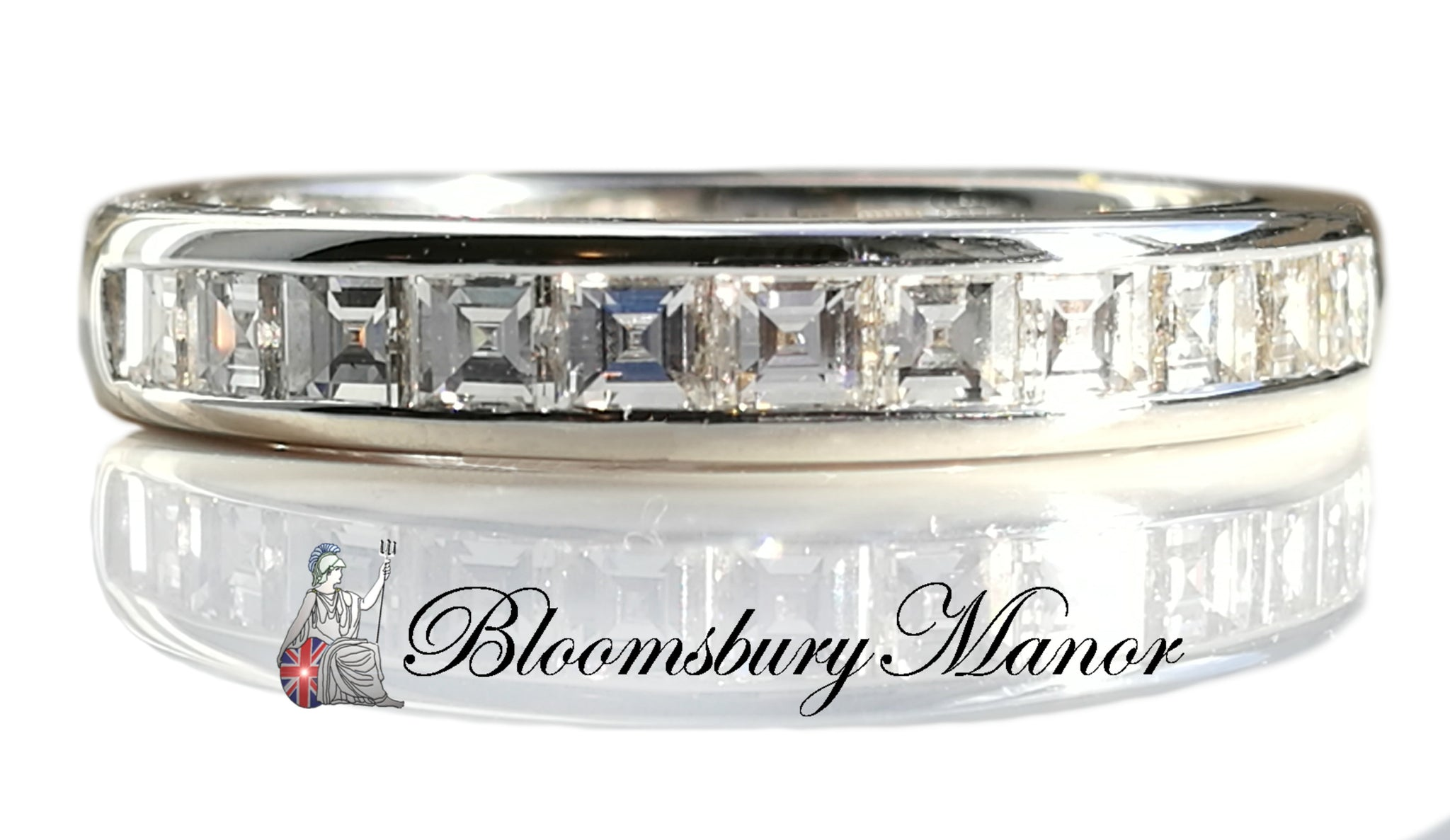 jewelry band glam product park normal silver eternity avenue ringsilvertone lyst kors princess gallery michael bands ring
