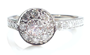 Tiffany & Co. 0.64tcw Circlet Diamond Engagement Ring