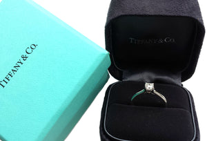 Tiffany & Co. 0.42ct F/VVS2 Lucida Diamond Engagement Ring