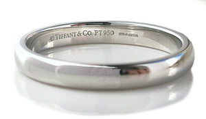 Tiffany & Co 3mm Classic Wedding Band Ring Q