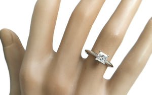 Tiffany & Co. 0.66ct G/VVS1 Princess Cut Diamond Engagement Ring