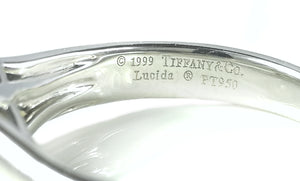 Tiffany & Co 1.50ct F/VVS2 Lucida Engagement Ring SZ K