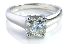 second hand, used, pre-owned, Tiffany, Lucida, Engagement Ring