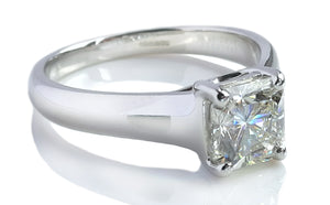Tiffany & Co 1.11ct I/VVS2 Lucida Diamond Engagement Ring