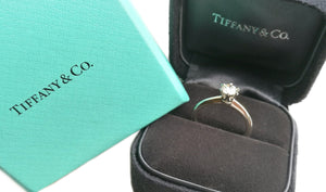 Tiffany & Co 0.42ct I/VS2 Triple-X Round Brilliant Engagement Ring