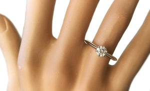 Tiffany & Co. 0.45ct Round Brilliant I/VVS1 Diamond Engagement Ring