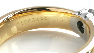 Tiffany & Co. 0.53ct F/VS1 'Etoile' Diamond Engagement Ring in 18k Yellow Gold
