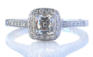 Tiffany & Co. 0.46tcw I/VVS2 'Legacy' Diamond Engagement Ring