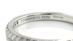 Tiffany & Co 2.mm Shared Setting Diamond Eternity Wedding Band Ring L