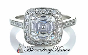 Tiffany & Co 2.31tcw I/VVS2 Legacy Diamond Engagement Ring SZ L