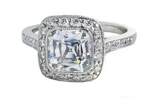 Tiffany & Co. 2.31tcw I/VVS2 'Legacy' Diamond Engagement Ring