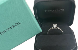 Tiffany & Co. 0.63tcw E/VVS1 Novo Diamond Engagement Ring