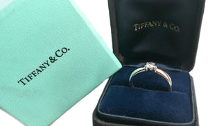 Tiffany & Co. 0.24ct D/IF Round Brilliant Diamond 'Etoile' Engagement Ring