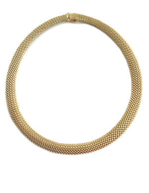Tiffany & Co. 18k Gold Somerset Necklace 16 in