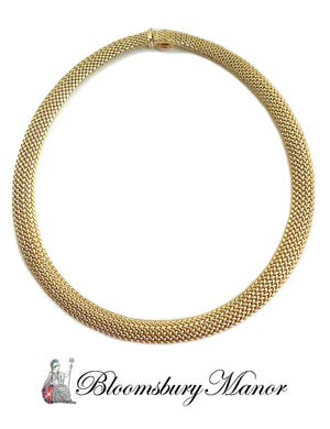 Tiffany & Co 18k Gold Somerset Necklace 16 in