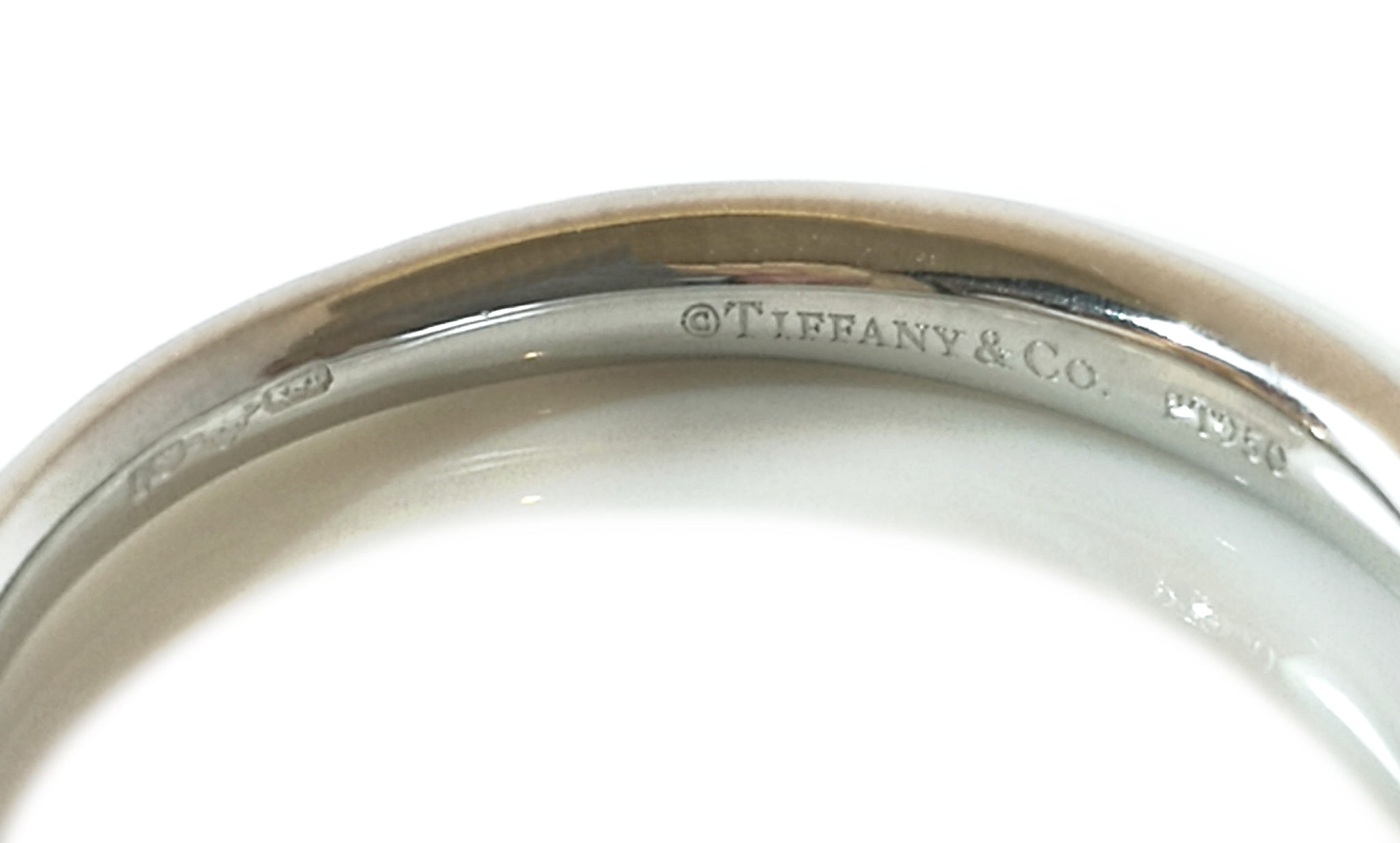 Tiffany Harmony Ring Makers mark and hallmarks