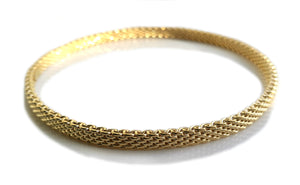 Tiffany & Co. Somerset Bracelet in 18k Yellow Gold Narrow