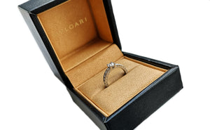Bulgari Bvlgari 'Dedicata a Venezia' 0.51ct E/VVS2 Round Brilliant Diamond Engagement Ring